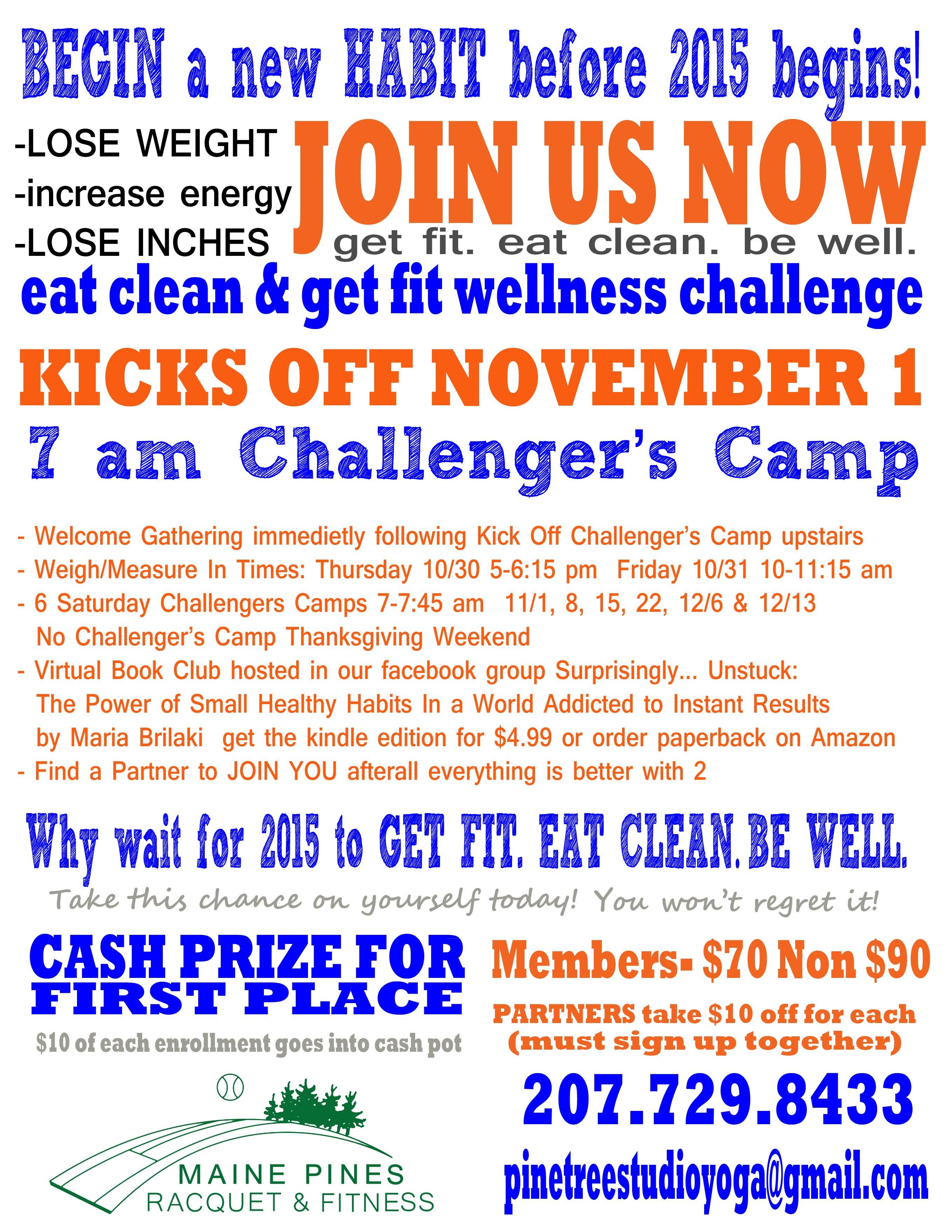 EatClean_BeFit_WellnessChallenge